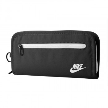 NIKE Portofele NIKE HERITAGE LONG WALLET BLACK/WHITE