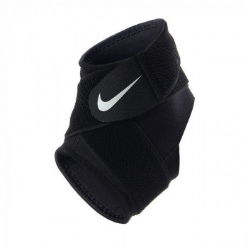 JR NIKE Bretele NIKE PRO ANKLE WRAP 2.0 L BLACK/WHITE