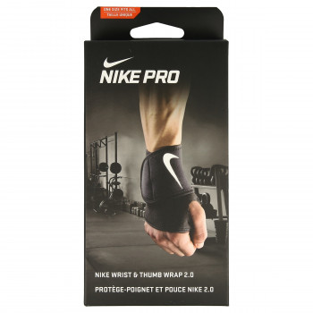 JR NIKE Bretele NIKE PRO WRIST AND THUMB WRAP 2.0 OSFM B