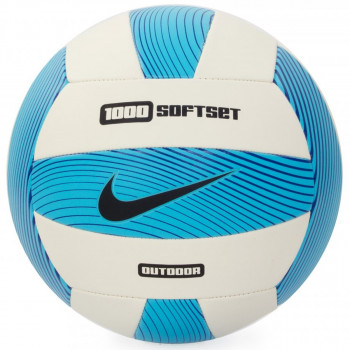 NIKE Mingi NIKE 1000 SOFTSET OUTDOOR VOLLEYBALL INFLATED WITH BOX ELECTRIC GREEN/WHITE/GAMMA BLUE/BLACK