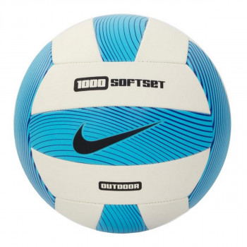 NIKE Mingi NIKE 1000 SOFTSET OUTDOOR VOLLEYBALL INFLATED WITH BOX GAMMA BLUE/WHITE/HYPER COBALT/BLACK