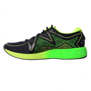 ASICS Pantofi sport NOOSA FF BLACK/GREEN GECKO/SAFETY YELLOW