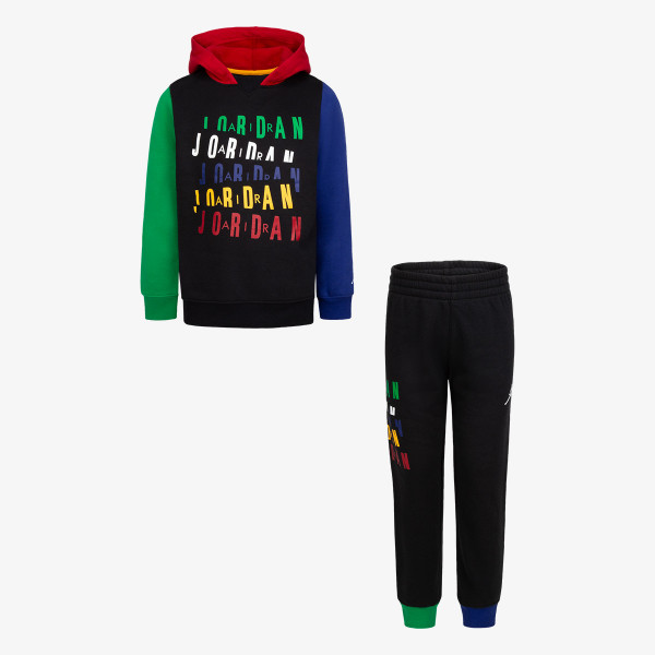 HADDAD SET JORDAN LEGACY OF SPORT FLEECE SET