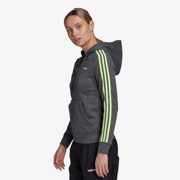 adidas Hanorace cu fermoar adidas Essentials 3-Stripes Hoodie