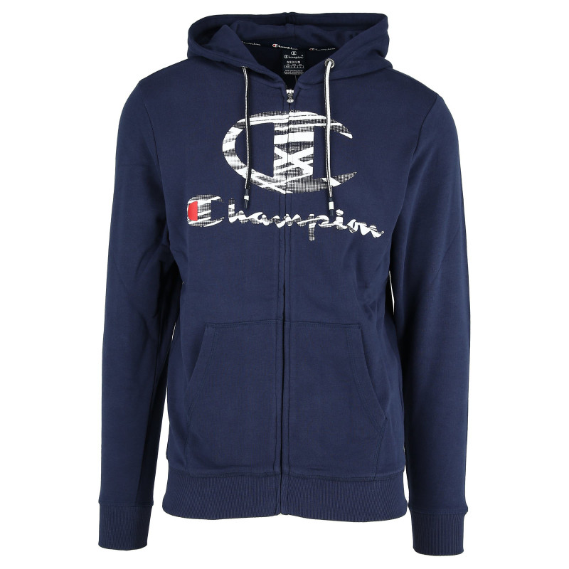 CHAMPION Hanorac PRINTED LOGO FULL ZIP HOODY