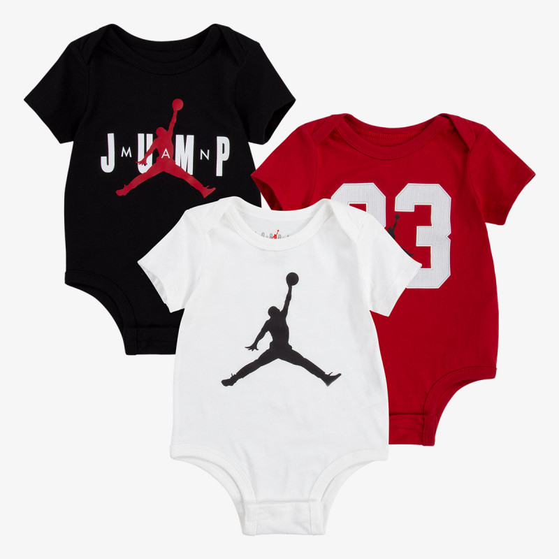 NIKE Set JDB MJDFCT 3PK BODYSUIT SET