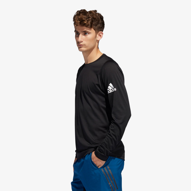 adidas Bluze adidas FreeLift Sport Solid Badge of Sport Tee