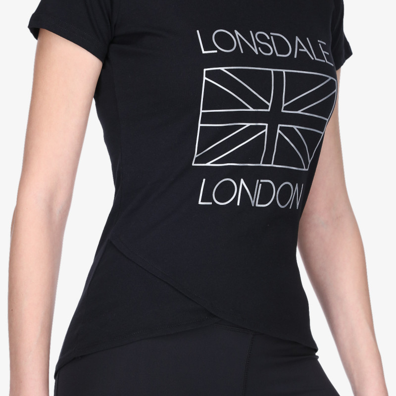 LONSDALE Tricou FLUO FLAG TEE