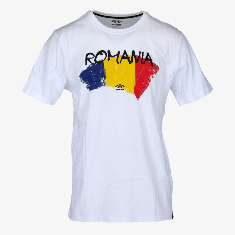 UMBRO Tricouri ROMANIA FAN T SHIRT