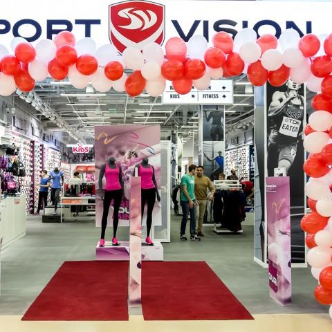 Sport Vision a deschis la Iulius Mall Iași, primul magazin din nord-estul țării