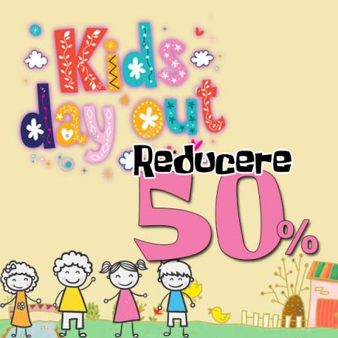 Ziua Copilului - toate articolele de copii la jumatate de pret!